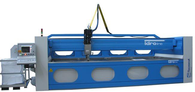 TECNOCUT IDROLINE: Mašina za sečenje vodom