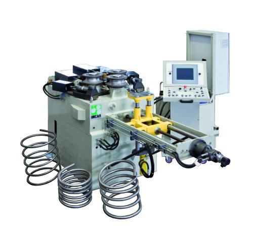 IMCAR CPHV-80 sa računarskim upravljanjem (CNC) i dodatnom opremom za peto-osno savijanje spirala