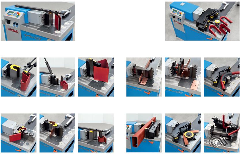 Dostupni alatni moduli za Euromac Digibend