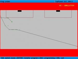 Simulacija probijanja zadatog crteža