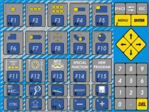 Tastatura sa komandama i makroima
