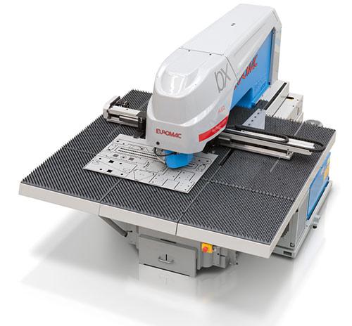 BX Autoindex: probijačica sa jednom D stanicom koja može da rotira alate