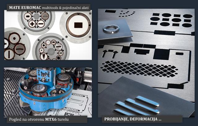 EUROMAC CNC probijačice: BX, ZX, MTX, STX