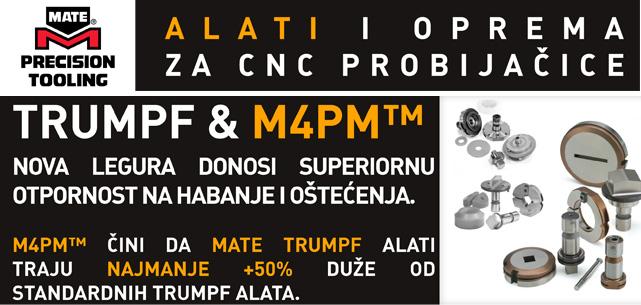 MATE M4MP Alatni čelik