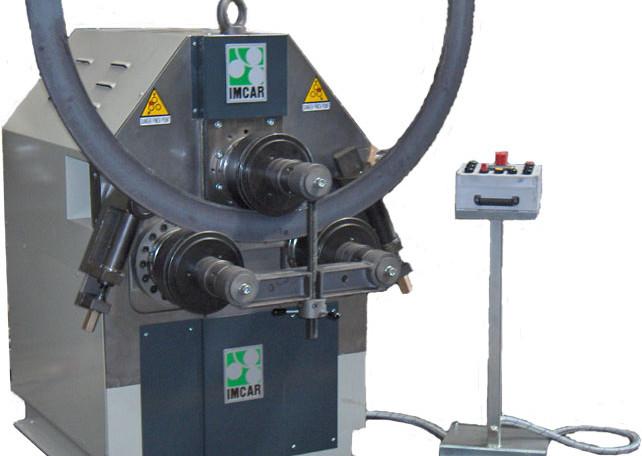 PIR 3/90 NC: hidraulički trovaljak za savijanje profila
