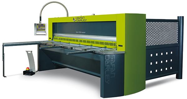SAFANDARLEY M-Shear 310-6: hibridne CNC makaze za sečenje lima