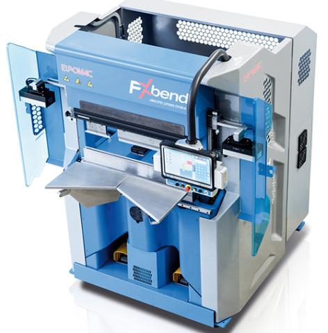 EUROMAC FX BEND 850: servo-električna apkant presa