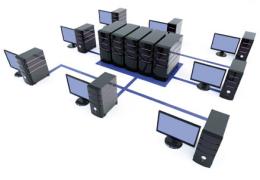 Više radnih stanica - jedna baza podataka