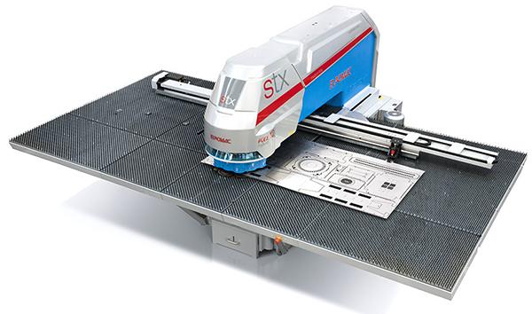 Euromac STX12 Flex CNC probijačica