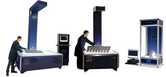 InspecVision: različiti modeli 2D skenera Planar serije