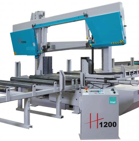 IMET H 1200: Najveći model u H seriji portalnih tračnih testera